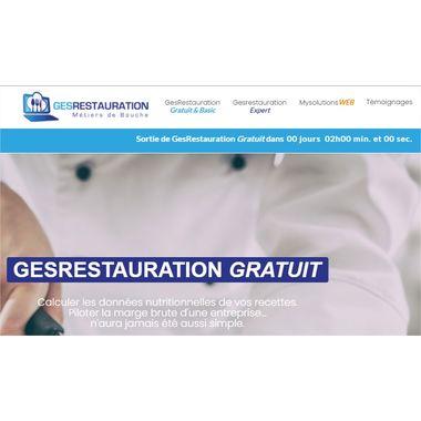 GesRestauration Gratuit - Dans 2 heures sur vos écrans !