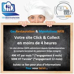 Click & Collect en 4 heures - Restaurants stations de ski - Urgent