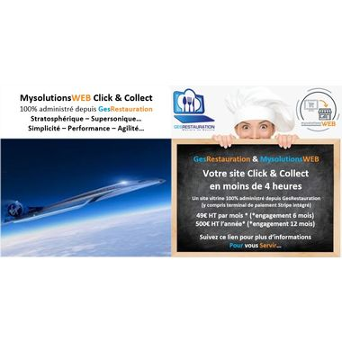 MysolutionsWEB Click & Collect - GesRestauration - Supersonique...