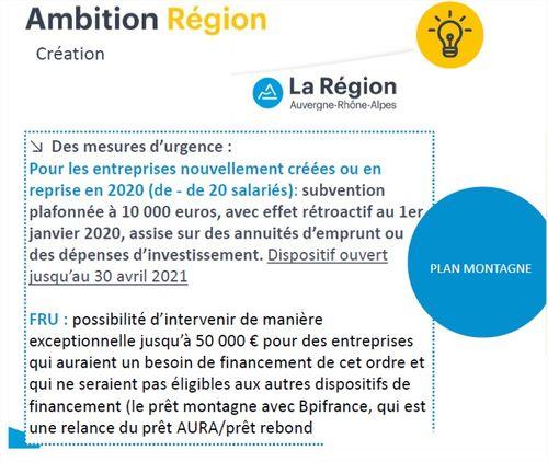 La région Auvergne Rhône Alpes lance un plan d'aides montagne